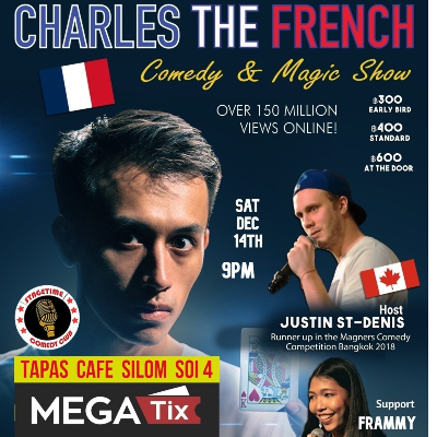 Comedy Magic with Charles The French