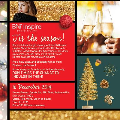 BNI Inspire Christmas Party -  Tis the Season