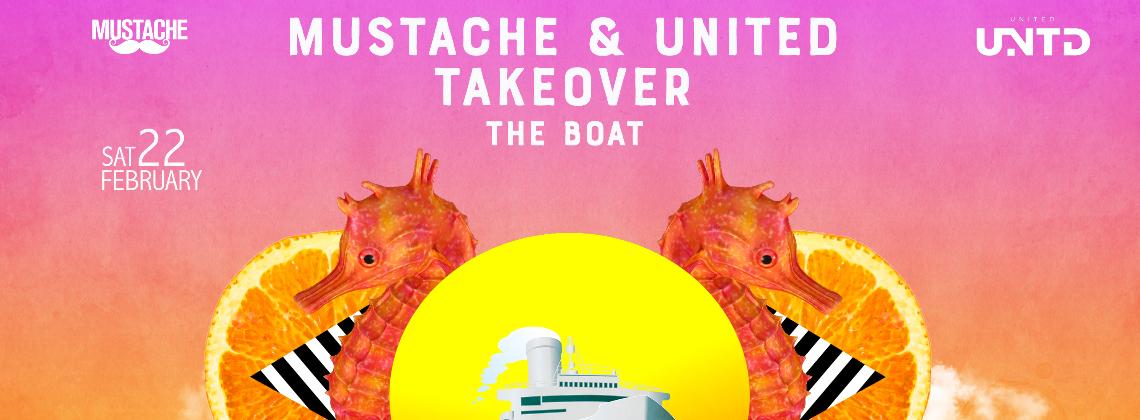 Mustache & United Takeover The Boat | Chrao Phaya Bangkok