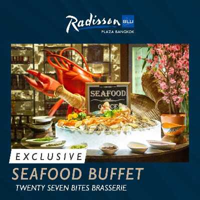 Exclusive Seafood Buffet on Friday