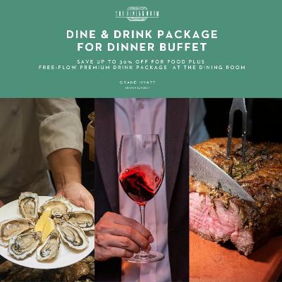 Dine & Drink Dinner Buffet  (Sun-Thurs)