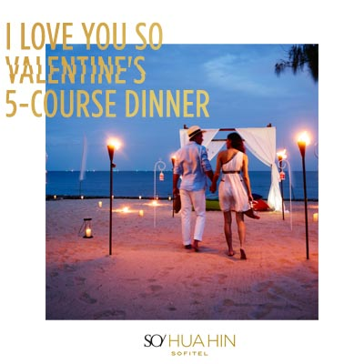 Valentine's 5-course Dinner