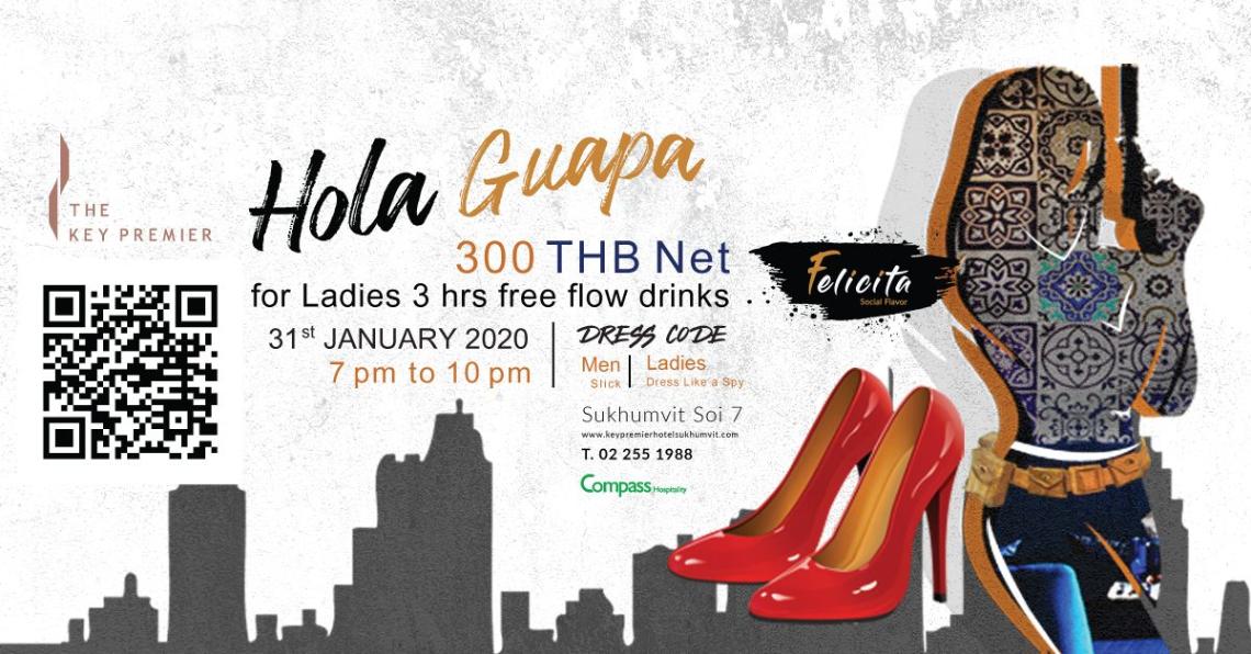 Hola Guapa free flow