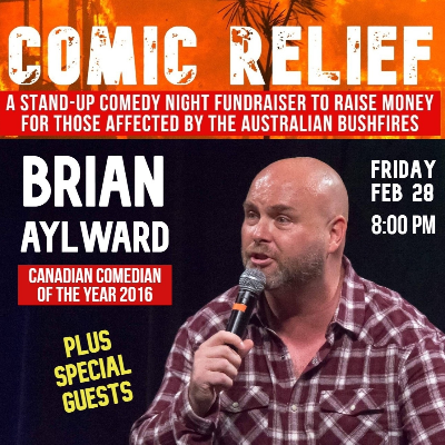 Bushfire Relief Comedy Night