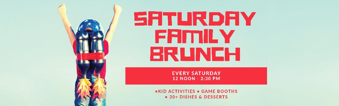 Saturday Family Brunch