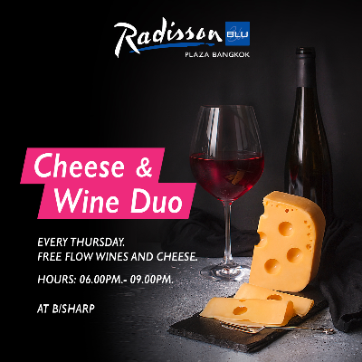 Cheese & Wine Duo
