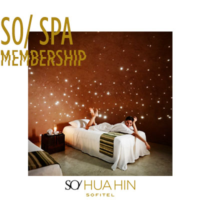Spa Membership at SO Sofitel Hua Hin