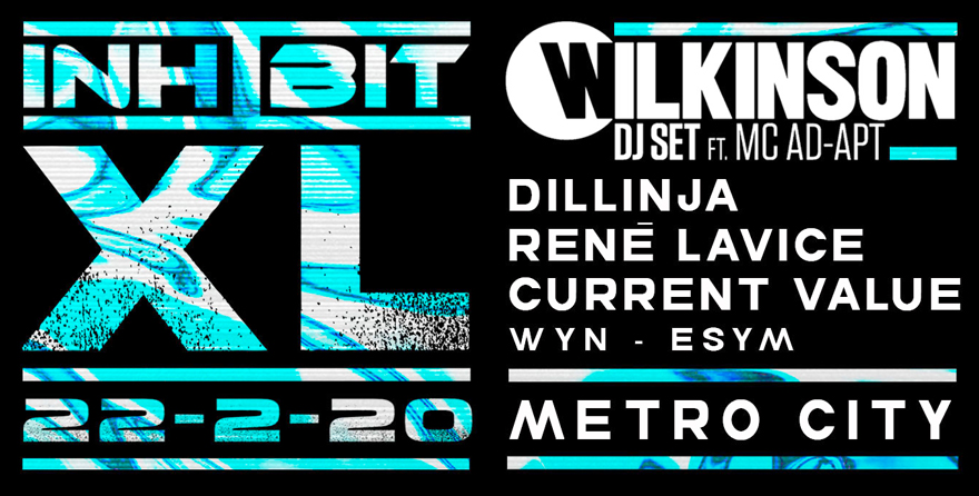 Inhibit XL ft. Wilkinson & MC Ad-apt, Dillinja, Rene Lavice & Current Value