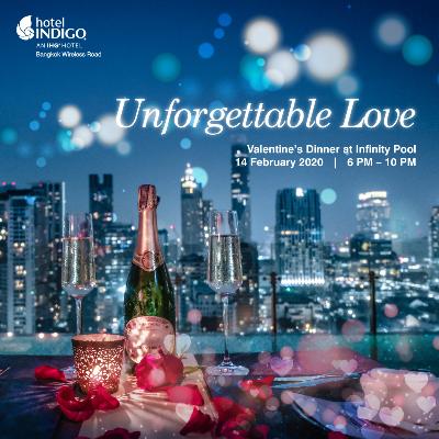 Unforgettable Love, Valentine's Dinner by Infinity Pool