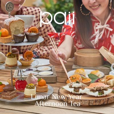 Lunar New Year Afternoon Tea at Paii
