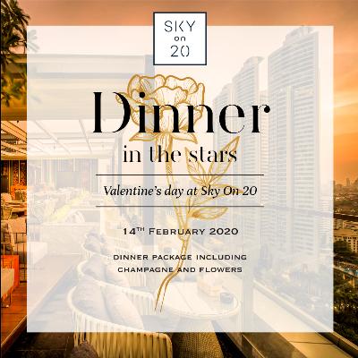Valentine Dinner at Sky on  20