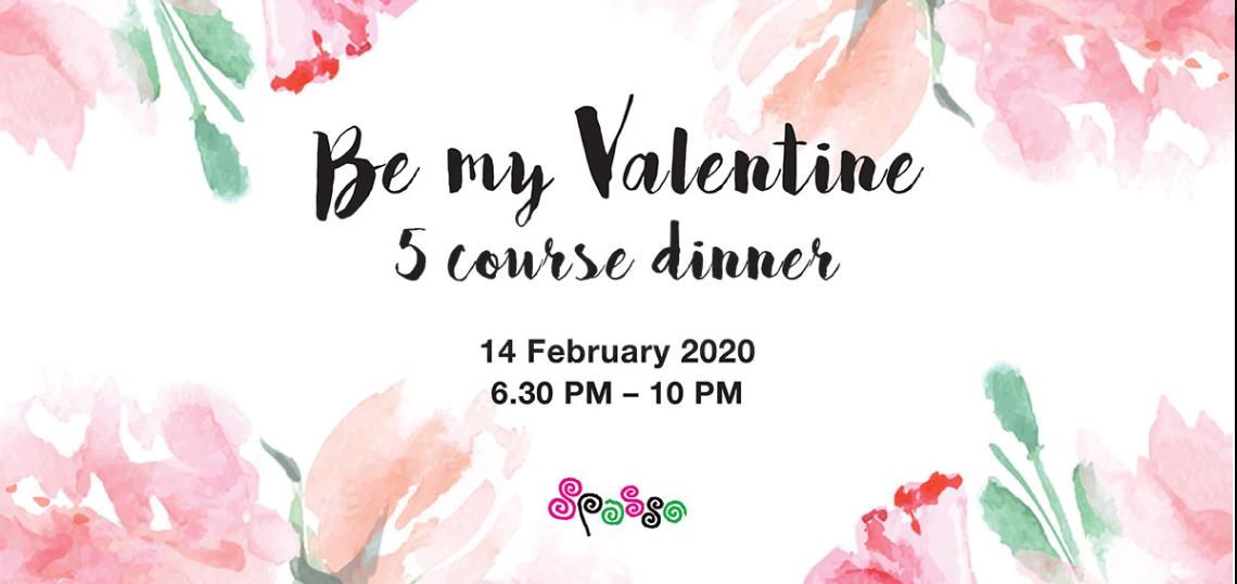 Be My Valentine 5 course Italian dinner