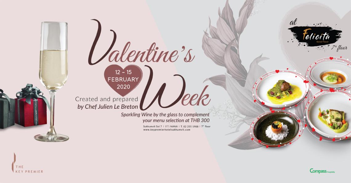 Valentine's week at Felicita