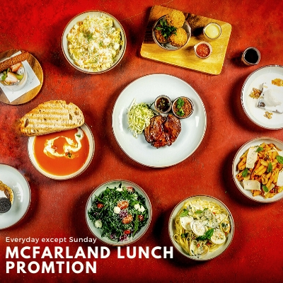 MCFARLAND LUNCH PROMOTION