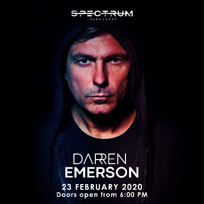 Spectrum Lounge & Bar presents Darren Emerson