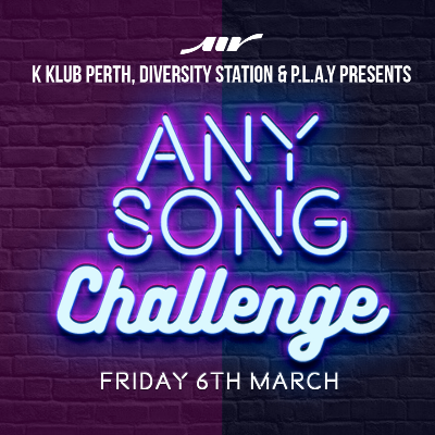 K-Klub, Diversity Station and P.L.A.Y presents Any Song Challenge