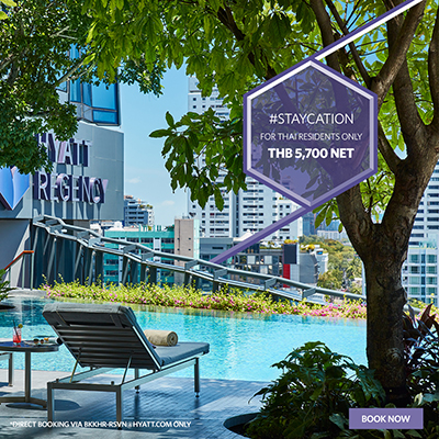 #Staycation at Hyatt Regency Bangkok Sukhumvit