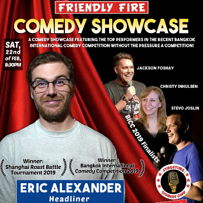 Friendly Fire Comedy Night