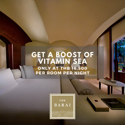 GET A BOOST OF VITAMIN SEA AT THE BARAI SUITE