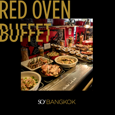 FLASH SALES : RED OVEN