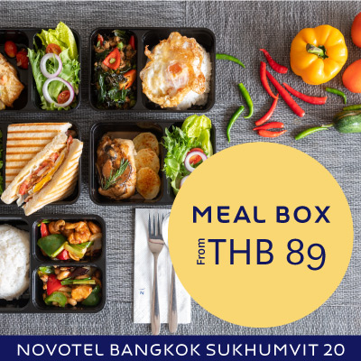 Meal box by Novotel 20