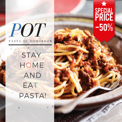 Food Delivery by POT - Pasta of Tomorrow