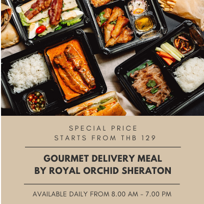 Food Delivery by Royal Orchid Sheraton
