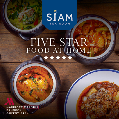 Five-Star Food at Home by Siam Tea Room