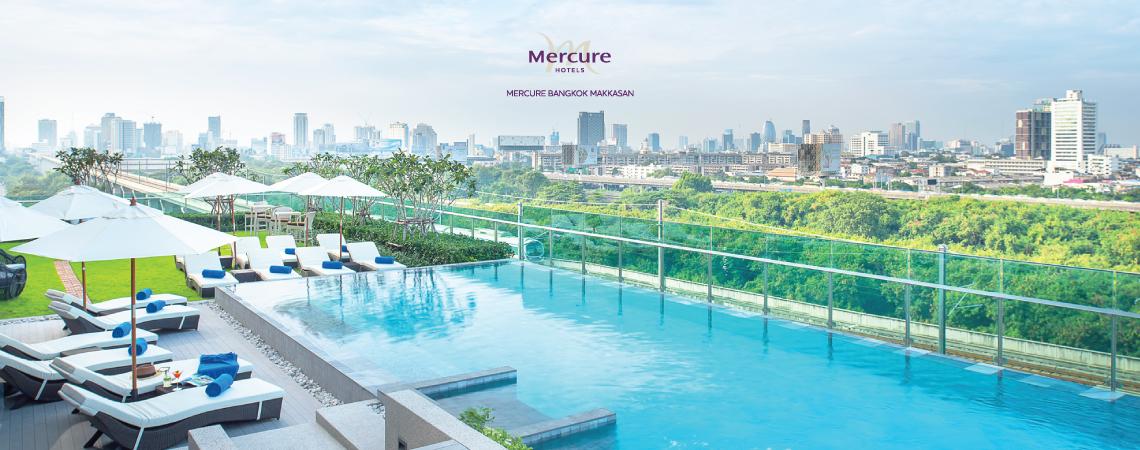 Mercure Bangkok Makkasan | Save 50%