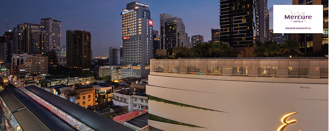 Mercure Bangkok Sukhumvit 24 | Save 50%