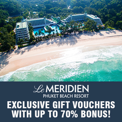 Le Meridien Phuket Beach Resort (UP TO 70% OFF)
