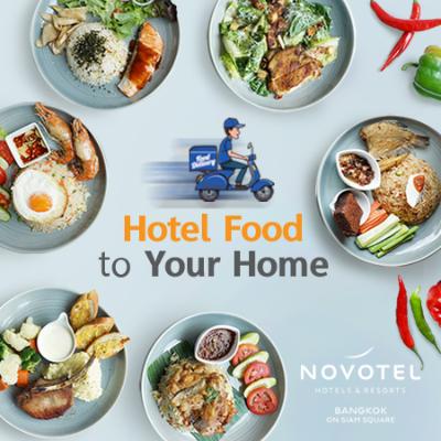 Food Delivery - Novotel Siam Square