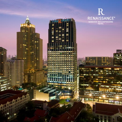 Renaissance Bangkok Ratchaprasong Hotel (UP TO 70% OFF)