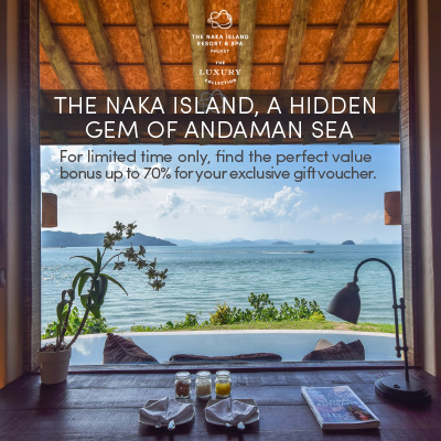 The Naka Island, a Luxury Collection Resort & Spa, Phuket (UP TO 70% OFF)