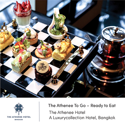 Food Delivery by The Athenee Hotel