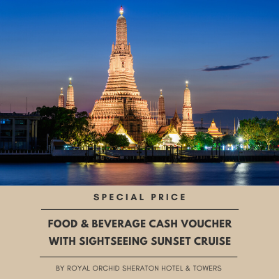 Food & Beverage Cash Voucher With Sightseeing Sunset Cruise