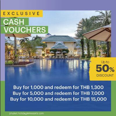 Enjoy up to 50% Cash Voucher Discount