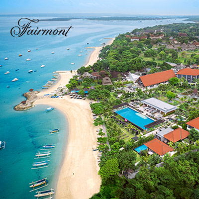 Save 60%  | Fairmont Sanur Beach Bali •  Hotel Suites, Dine and Spa Gift Vouchers