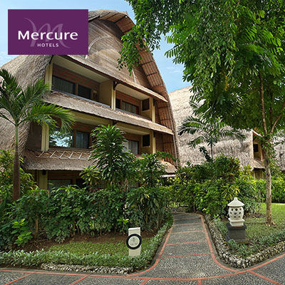 Save up to 67%  |  Mercure Resort Sanur  •  Hotel Room and Day Pass Vouchers