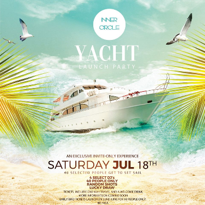 Inner Circle Yacht Launch Party