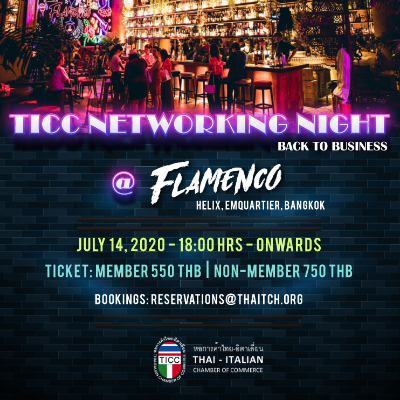 TICC Networking Night (Back to the Business)