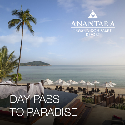 Flash Sale 8.8 | Day Pass To Paradise at Anantara Lawana Koh Samui Resort