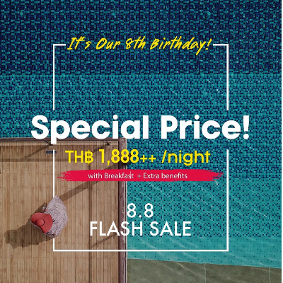 Flash Sale 8.8 Be a Part of Our 8th Birthday Celebration - Special Price!