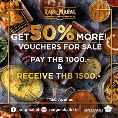 Rang Mahal 50% added value
