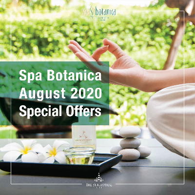 Spa Botanica August Special Offer