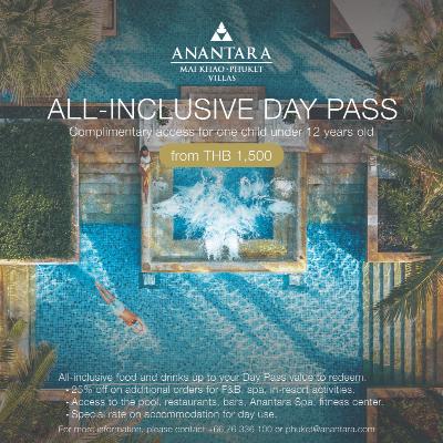 Anantara Mai Khao Phuket Villas   All Inclusive Day Pass
