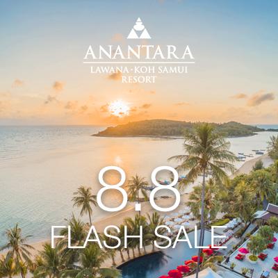Flash Sale 8.8 | Anantara Lawana Koh Samui Resort