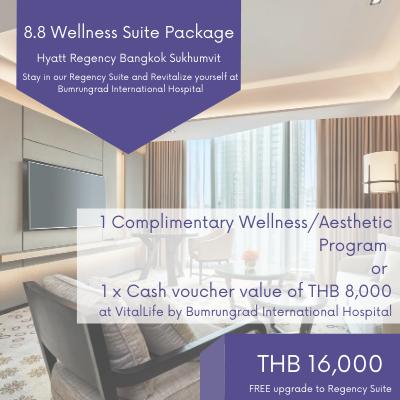 Flash Sale 8.8 Wellness Suite Package