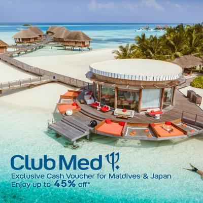 Club Med - Exclusive Cash Voucher