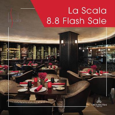 8.8 Flash Sale | Set Dinner Menu by La Scala